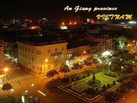 Long Xuyen city - An Giang Province - Vietnam Tourism