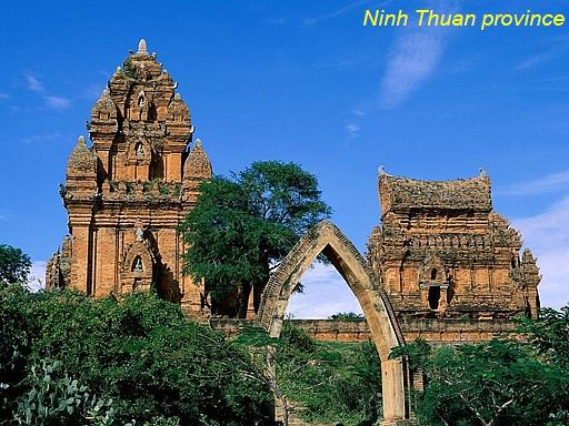 Cham tower - Ninh Thuan Province