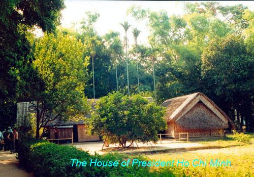 The House of President Ho Chi Minh - Nghe An province