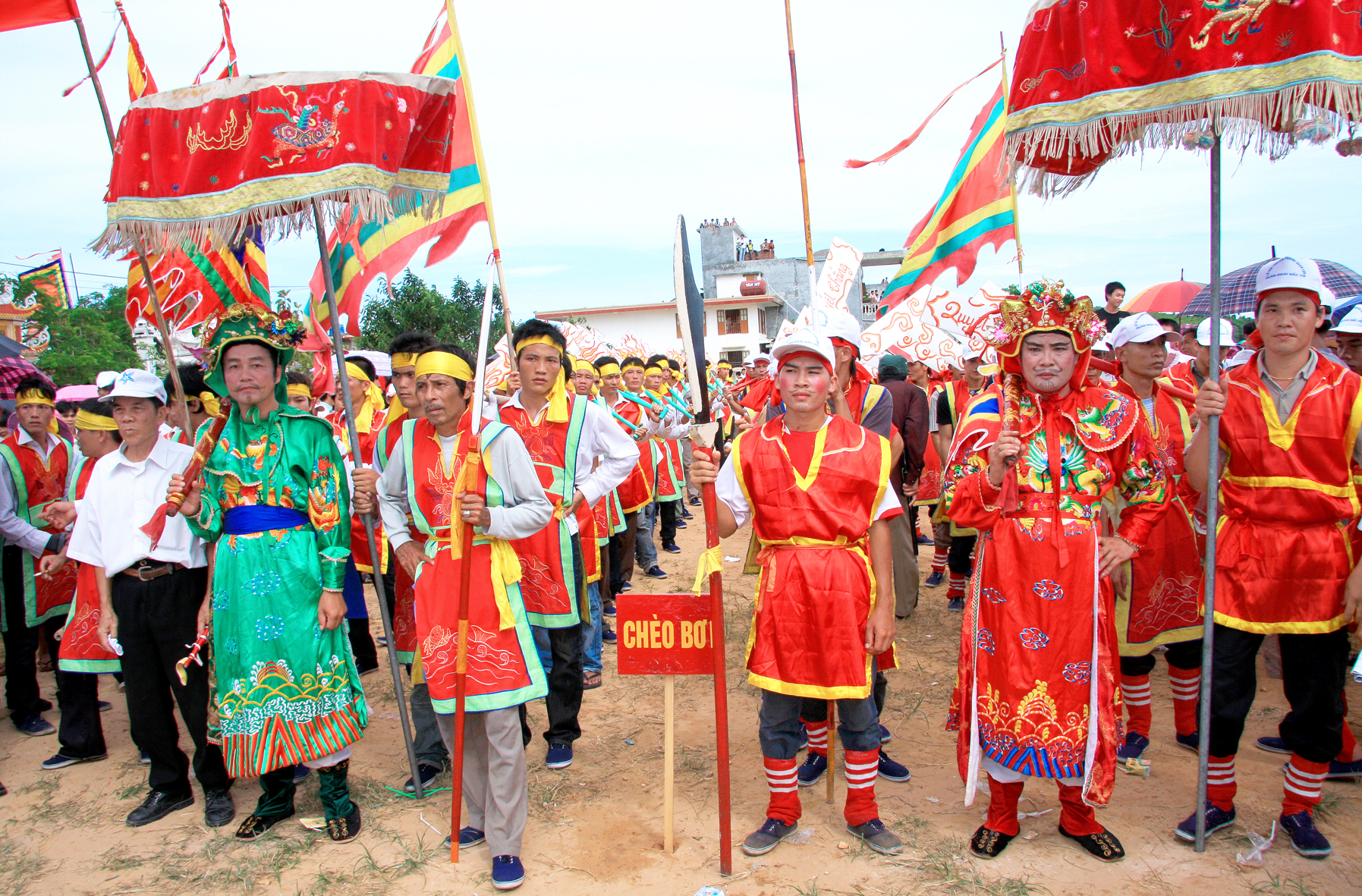 Historical Festival in Quan Lan Village