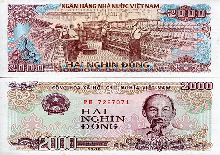 Equal To 0 05 Usd In Vietnam Can Be Used One Small Candy At Some Vendor S