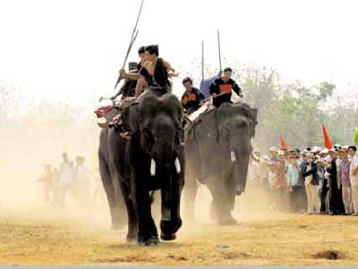 The Elephant Race Festival in Dak Lak